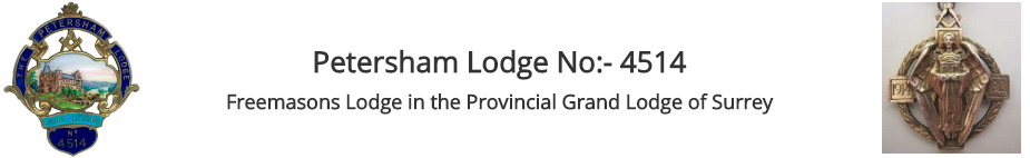 Petersham Lodge No 4514